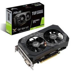 Vga asus tuf gtx1660 oc gaming 6gb gddr5 pci-express tuf-gtx1660-o6g-gaming - VGA-AS-1660-O6G