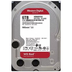 "Disco duro 6tb interno 3.5"" western digital nas red wd60efax sata3 256mb. - HD-6TB-WD60EFAX"