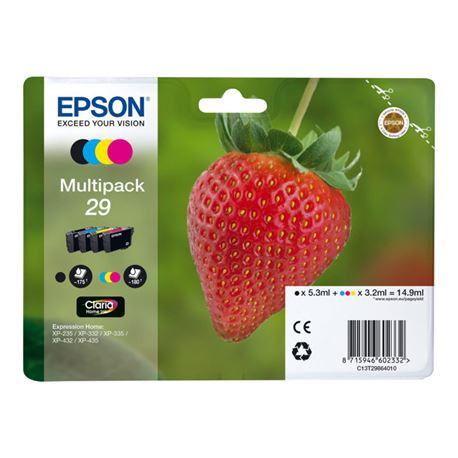 Cartucho t298640 ( 29 ) ( multipack ) epson xp235 / xp332 / xp335 - CART-T298640