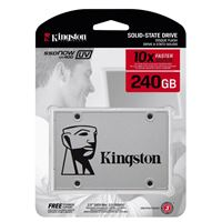 "Ssd 240gb kingston ssdnow uv400 sata3 2.5"" ( suv400s37/240g ) - SSD-240-SUV-K"