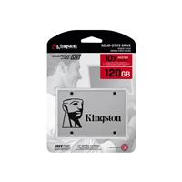 "Ssd 120gb kingston ssdnow uv400 sata3 2.5"" suv400s37/120g - SSD-120-SUV-K"