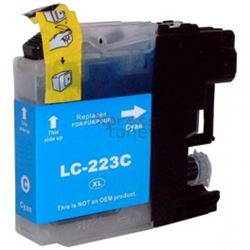 Cartucho compatible lc223c (cian) (generico) brother dcp-j562dw - C-CO-LC223C