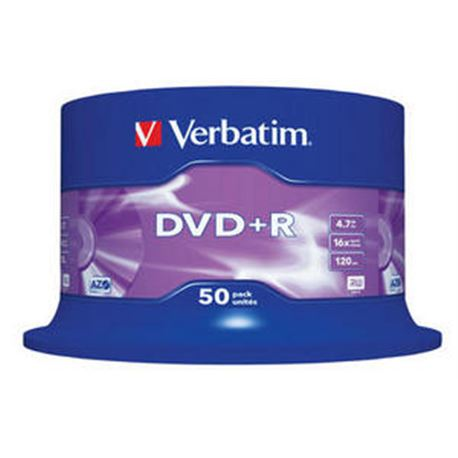 Dvd pack 50 +r (spindle) verbatim ( 43550 ) - DVD-VE-43550