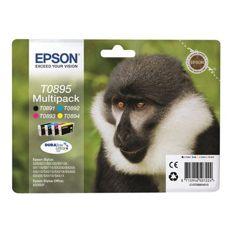Cartucho t089540 ( t0895 )( multipack ) epson s20 / s21 - CART-T089540