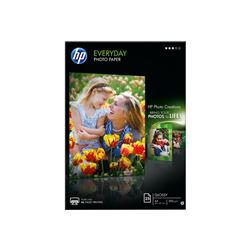 Papel q5451a everyday photo paper glossy a4 (25h) (inkjet) 200 gr - PAP-Q5451A