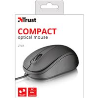 Raton trust compact optical mouse ziva (usb) ( negro ) ( 21508 ) - RT-TR-21508