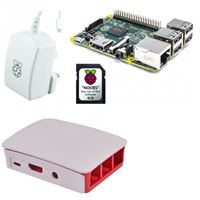 Rasberry rb-kit-1012 pi3 modelo b / microsd 8gb noobs / fuente / caja - RA-RB-KIT-1012