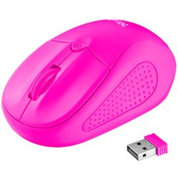 Raton trust wireless mouse primo (inalambrico)(rosa neon) ( 21923 ) - RT-TR-21923
