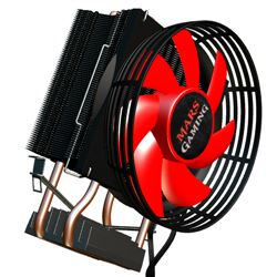 Ventilador cpu mars gaming mcpu117 heatpipes ( socket 775/ 1150 / 1151 ) - VENT-MG-MCPU117