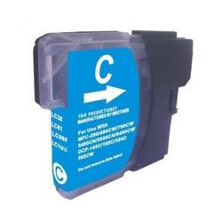 Cartucho compatible lc980c / lc1100c (generico) brother dcp-145c / 163c - C-CO-LC980C