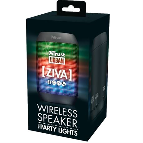 Altavoz trust urban ziva party lights (bluetooth) ( 21967 ) - ALT-TR-21967