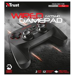 Gamepad trust gxt 540 para pc / ps3 (usb) ( 20712 ) - GA-TR-20712