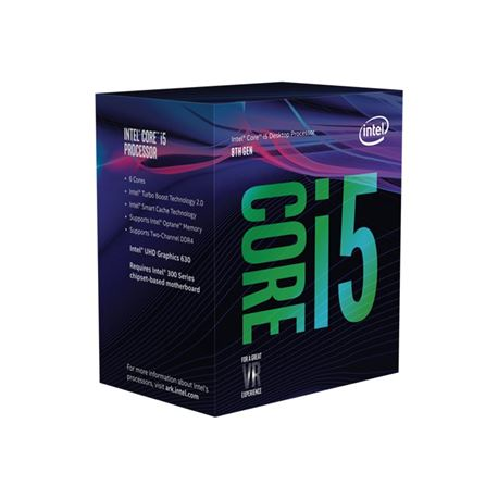 Micro intel i5 8400 2,80ghz. box(incl. vent.)(socket 1151)( bx80684i58400 ) - MI-I5-8400