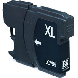 Cartucho compatible lc985bk (negro)(generico) brother dcp-j125 - C-CO-LC985BKS