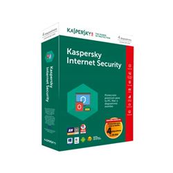 Antivirus kaspersky internet security 2018 4u ( kl1941s5dfs-8 ) - ANT-KAINT18-4