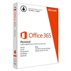 Microsoft office 365 personal 1 licencia 1año pc/mac/tablet qq2-00542 - MS-OFFICE-365-P