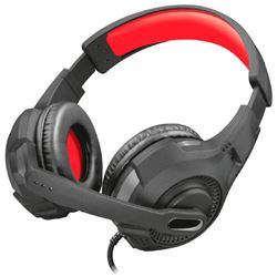 Auriculares con microfono trust gaming gxt 307 (negro-rojo) ( 22450 ) - AUR-TR-22450