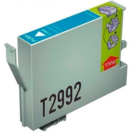 Cartucho compatible t299240 ( 29xl ) (cian )(generico) epson xp235 / xp332 - C-CO-T299240