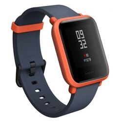 Smartwatch xiaomi amazfit bip (youth edition) (rojo-negro) - SMART-XI-AMAZ-R