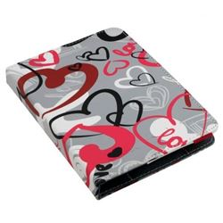 "Funda ebook 6"" e-vitta booklet urban trendy crazy hearts ( evebp00404 ) - FUNDA-EVEBP404"