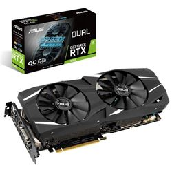 Vga asus dual geforce rtx2060 oc 6gb gddr6 - VGA-AS-2060-DO6G