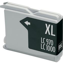 Cartucho compatible lc970bk / lc1000bk (generico) brother dcp 130 - C-CO-LC970BK